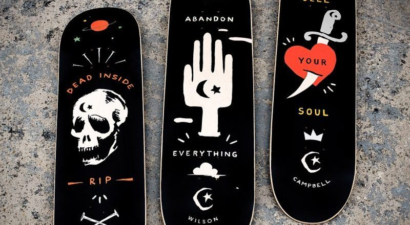 Abandon Series By Foundation Skateboards 3