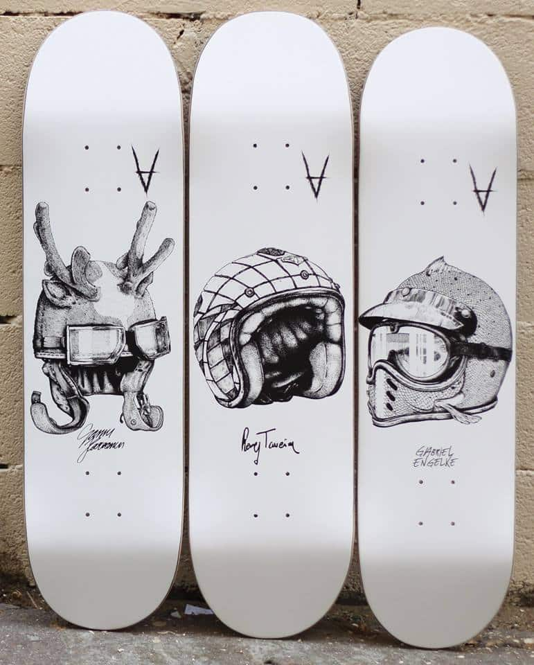 Antiz Skateboards Helmut