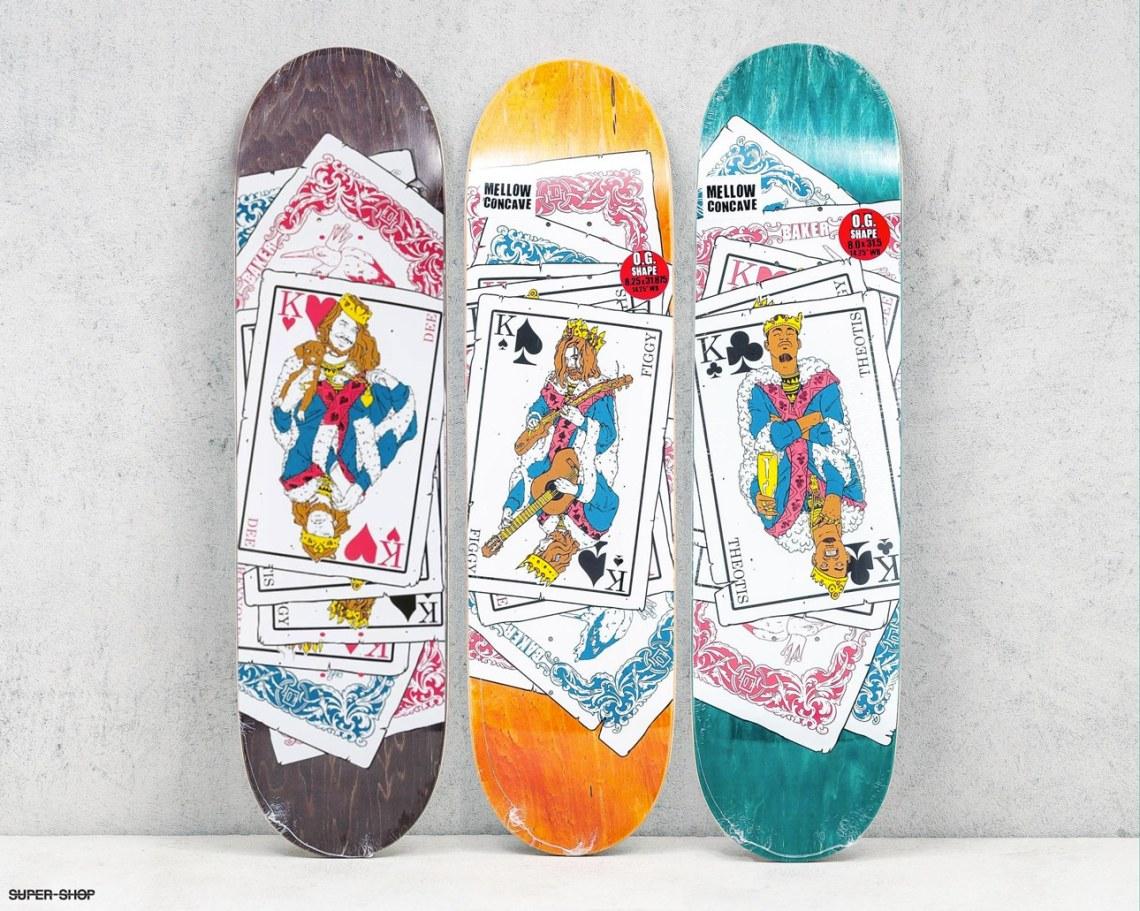 Baker Skateboards Laurent Claveau Skate Decks