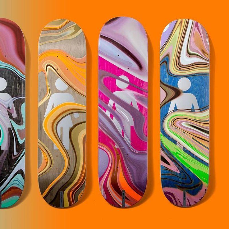 Oil Slick Series By Girl Skateboards 2