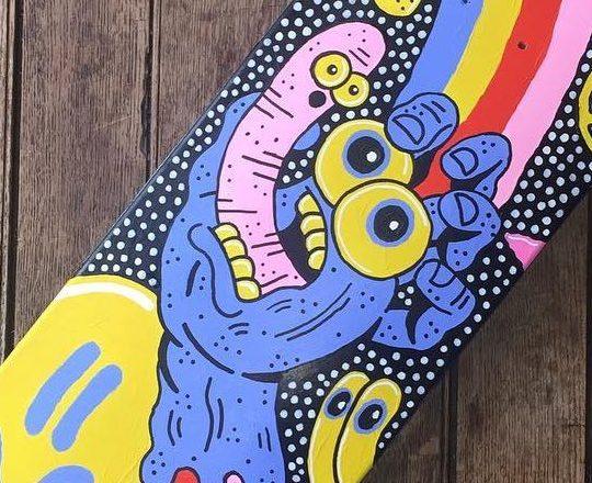 Sam Taylor Custom Board For Santa Cruz Skateboards 3