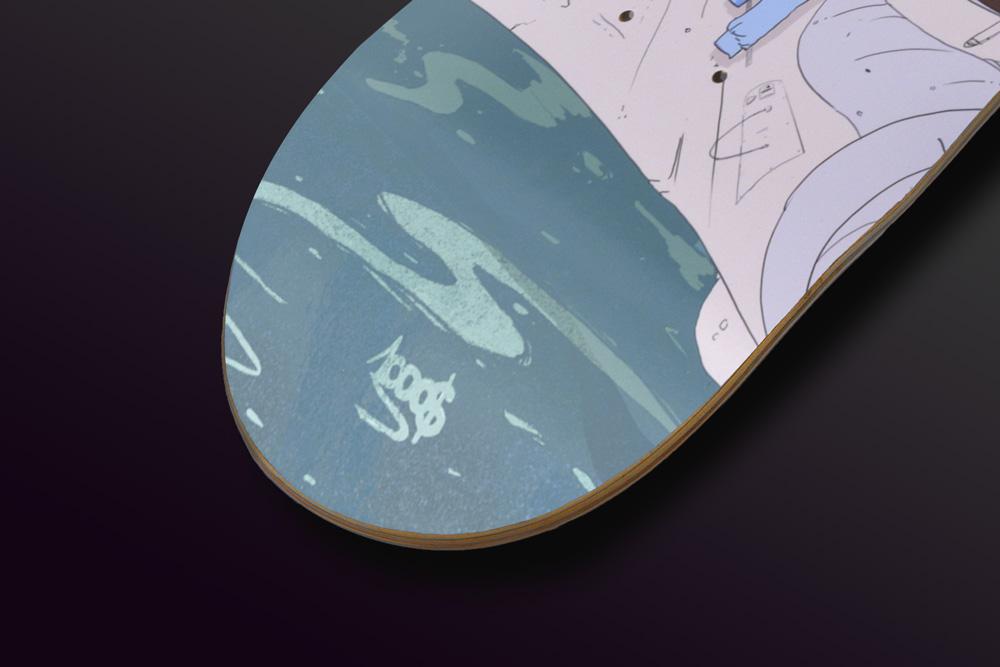 Guillaume Mille Skateboard Deck 8