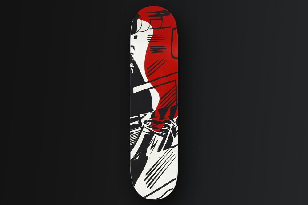 Benjamin Spark Skateboard Deck 2