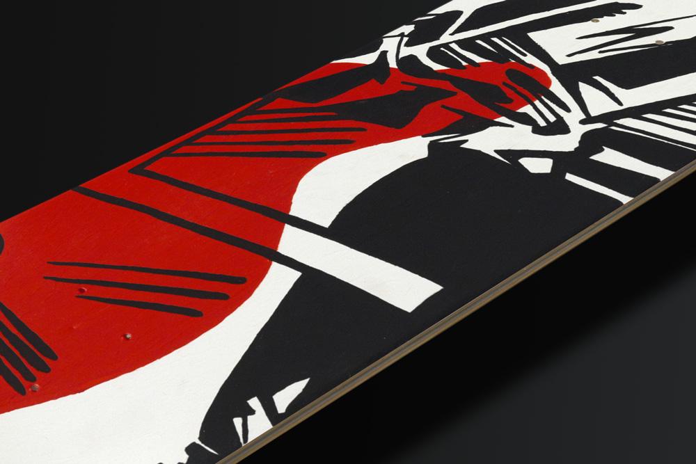 Benjamin Spark Skateboard Deck 3