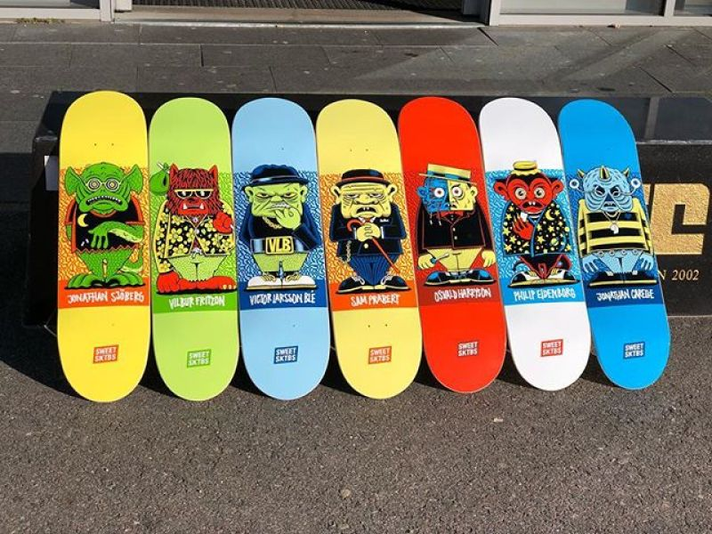 Character Series By Mander Sweet Skateboards 1