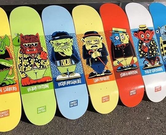 Character Series By Mander Sweet Skateboards 8