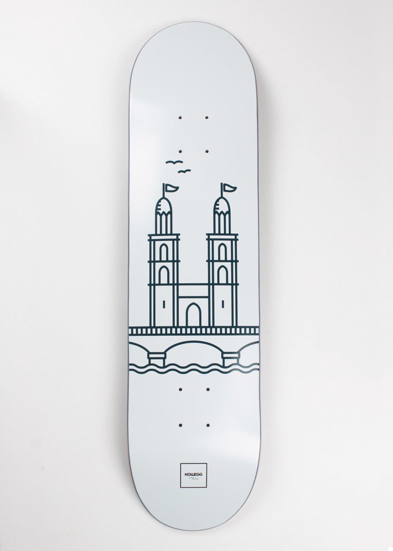 Helsinki Zurich Skateboards By Kollegg 12