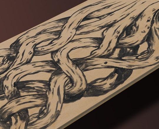 Kraken Skateboard Deck 3