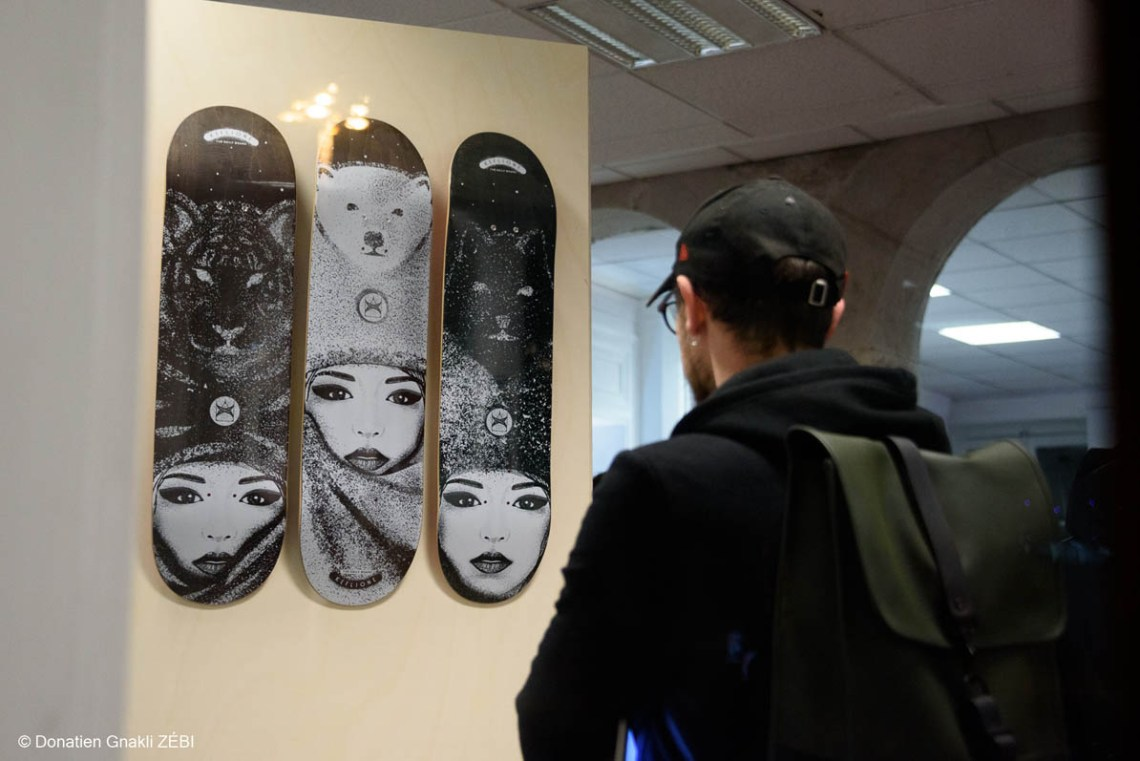 Skate Station 002 Inking Board Vernissage 15