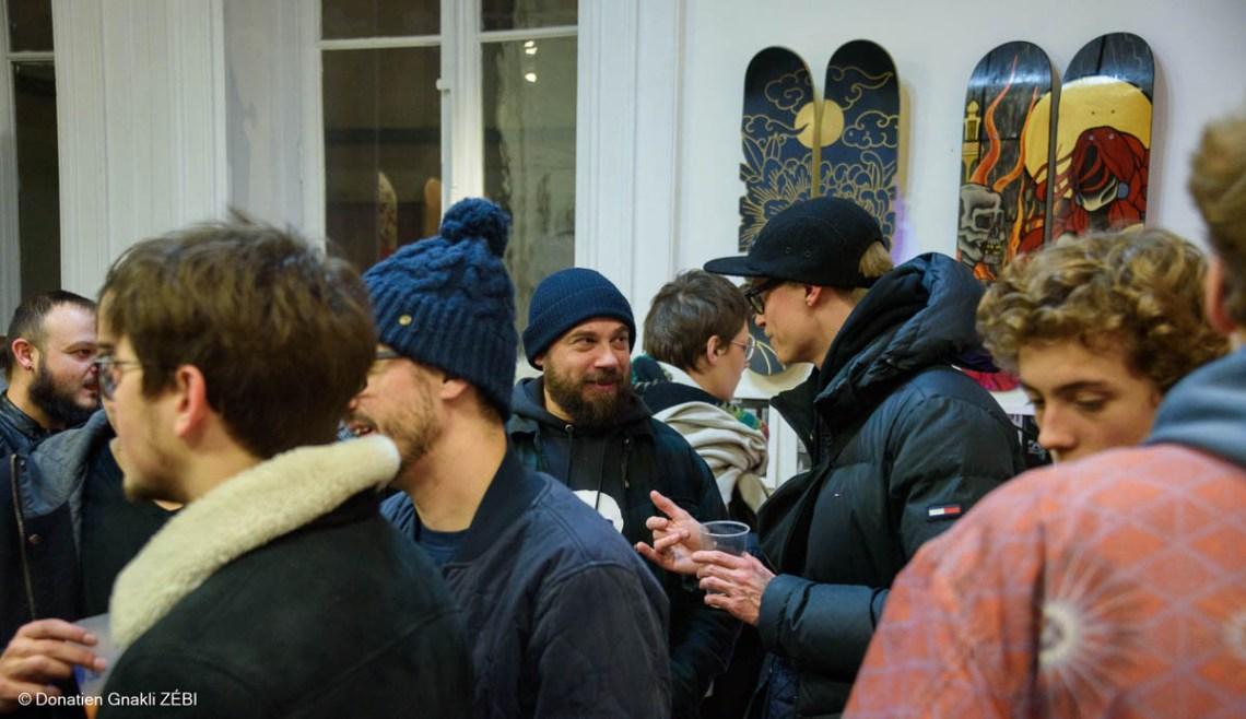 Skate Station 002 Inking Board Vernissage 28