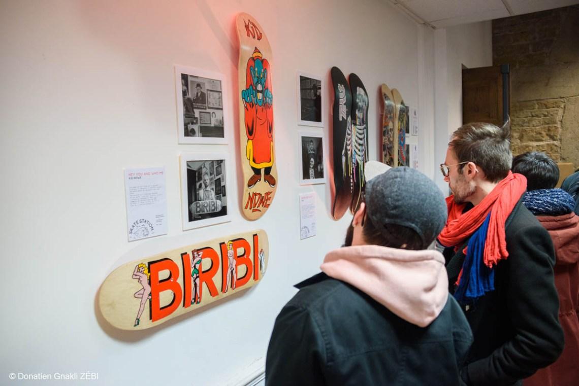 Skate Station 002 Inking Board Vernissage 31