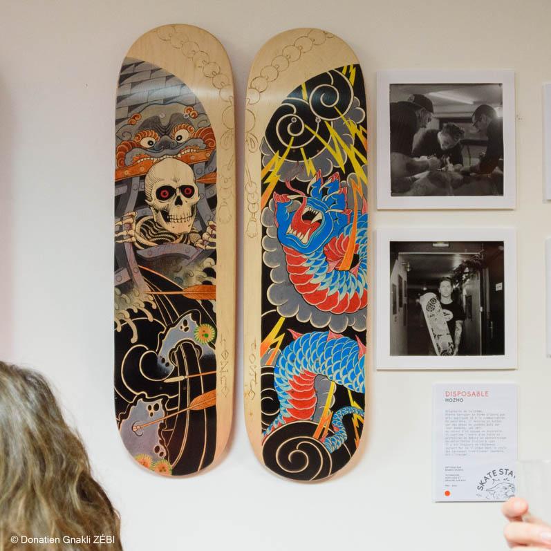Skate Station 002 Inking Board Vernissage 33