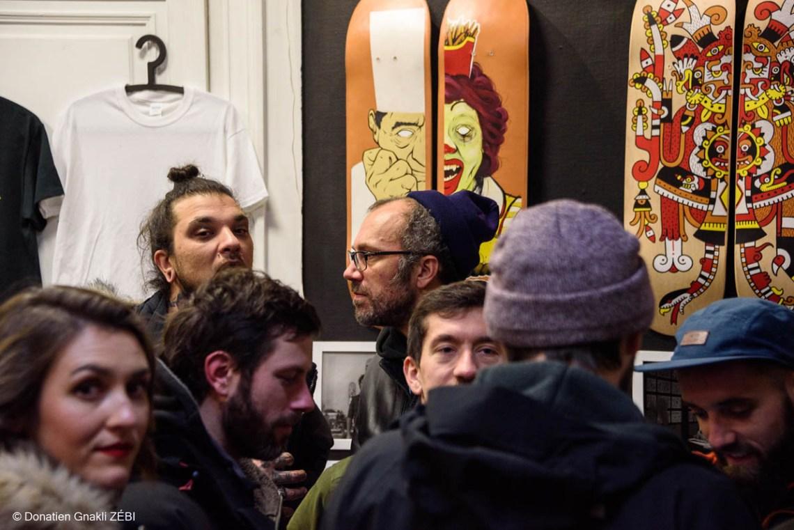 Skate Station 002 Inking Board Vernissage 45