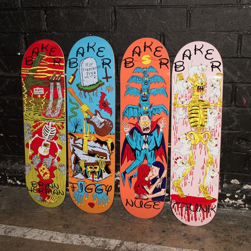 Ways To Die Series By Jj Villard Baker Skateboards 5