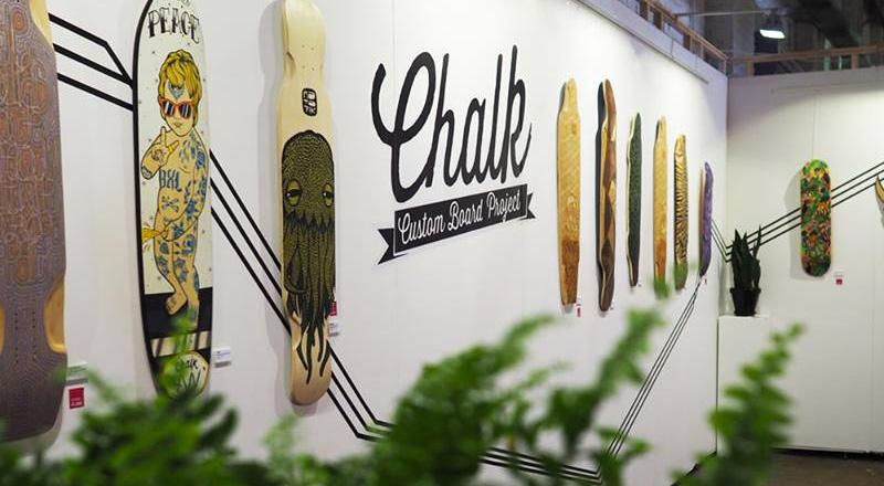 ChalkCustomBoard NECTAR Collective Exhibition