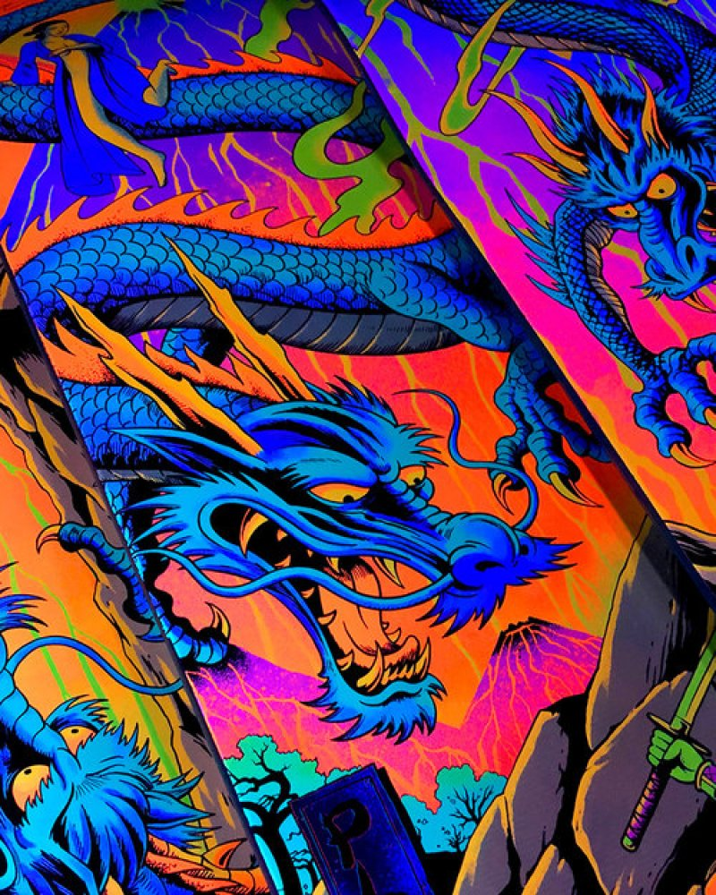 Blacklight Series By Darkstar Skateboards 9