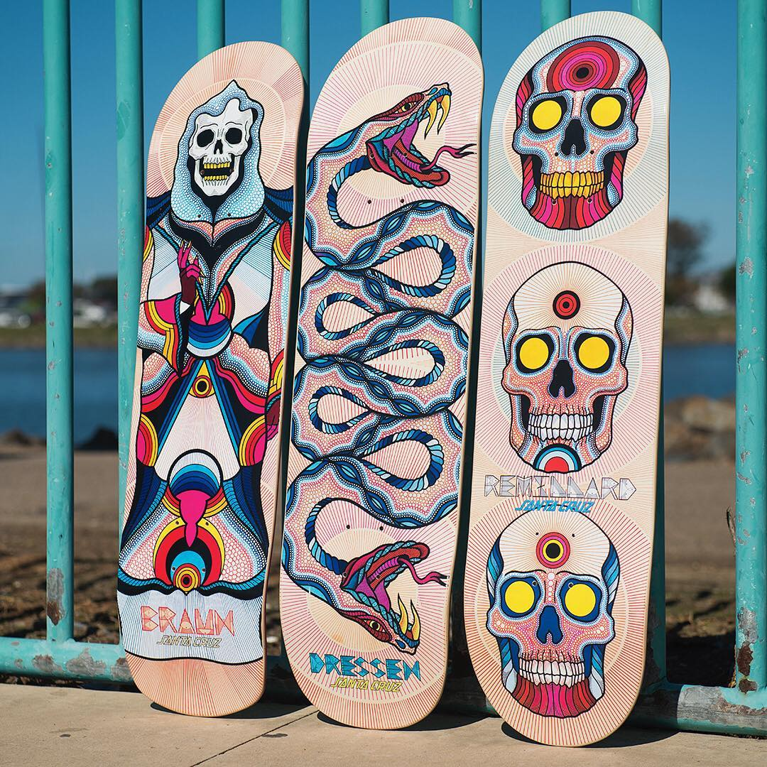 Bonethrower Santa Cruz Skateboards 2