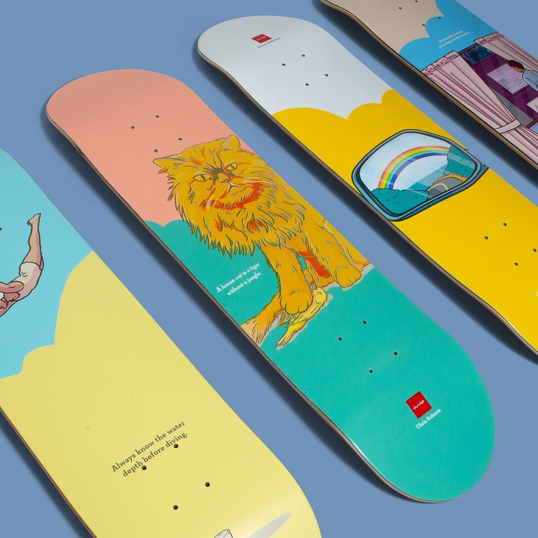 Epiphany Series By Donta Santistevan Chocolate Skateboards 5