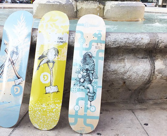 Lo Series By Laurent Claveau Doble Skateboards 8