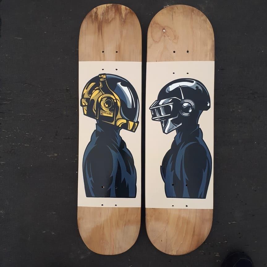 Daft Punk By Ze Toon 3