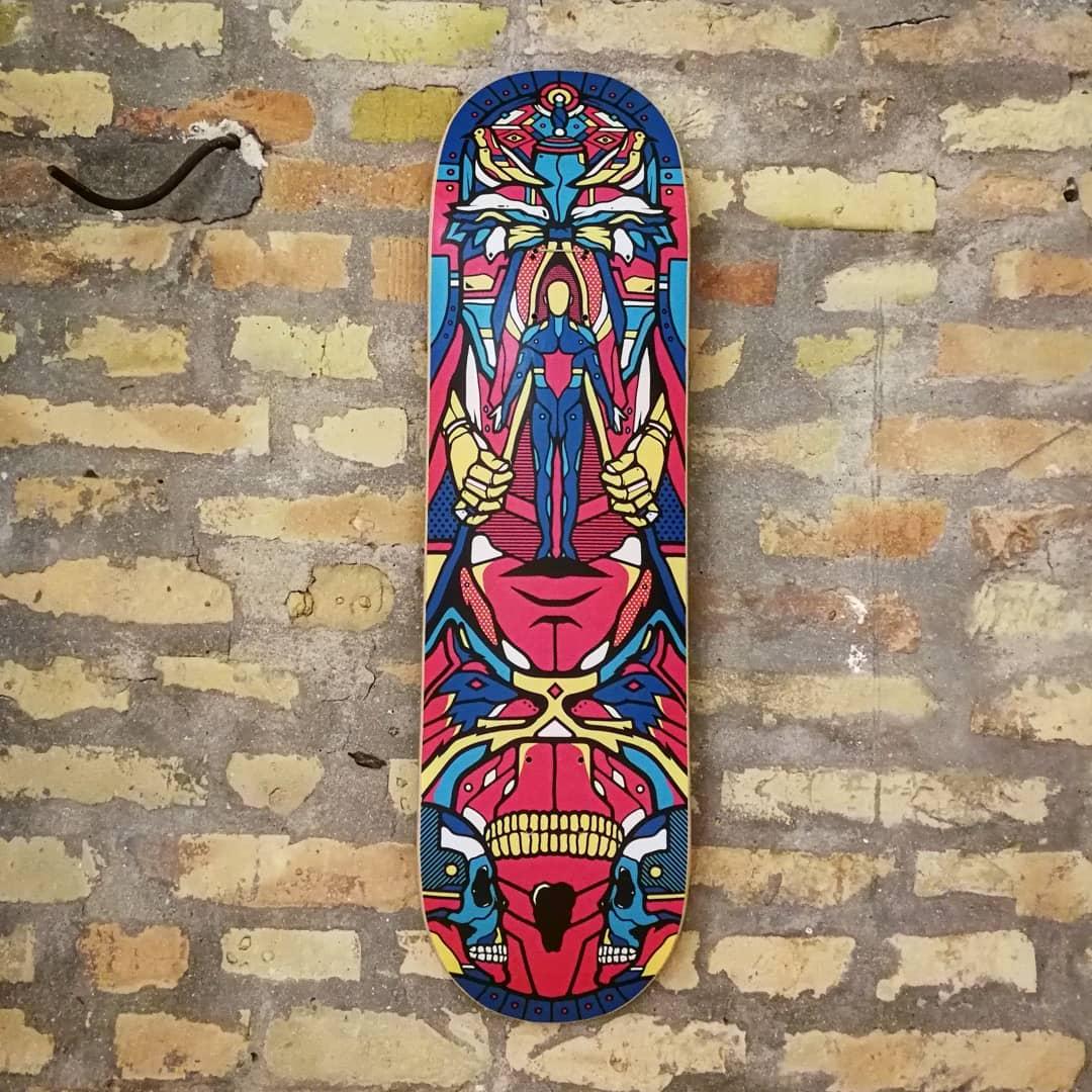 I Am The Wizard Van Orton Bonobolabo Skateboards 3