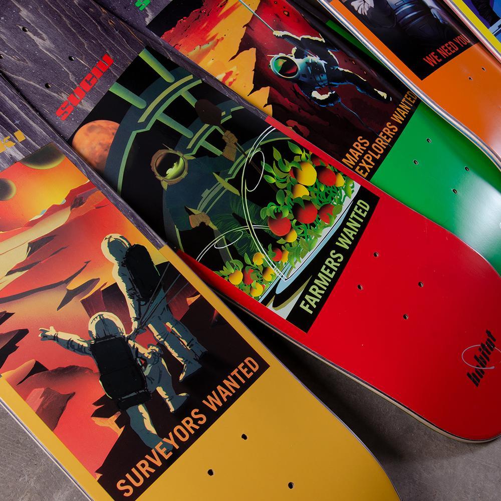 Nasa Collection Habitat Skateboards 1