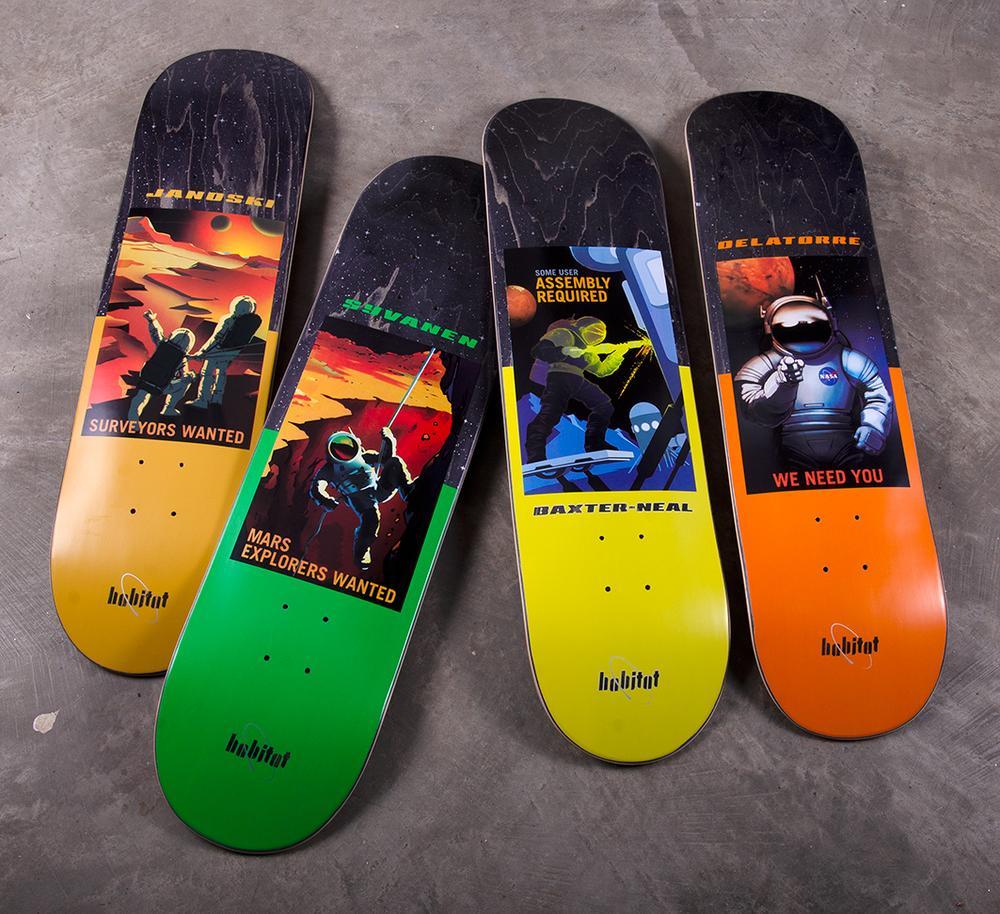 Nasa Collection Habitat Skateboards 13