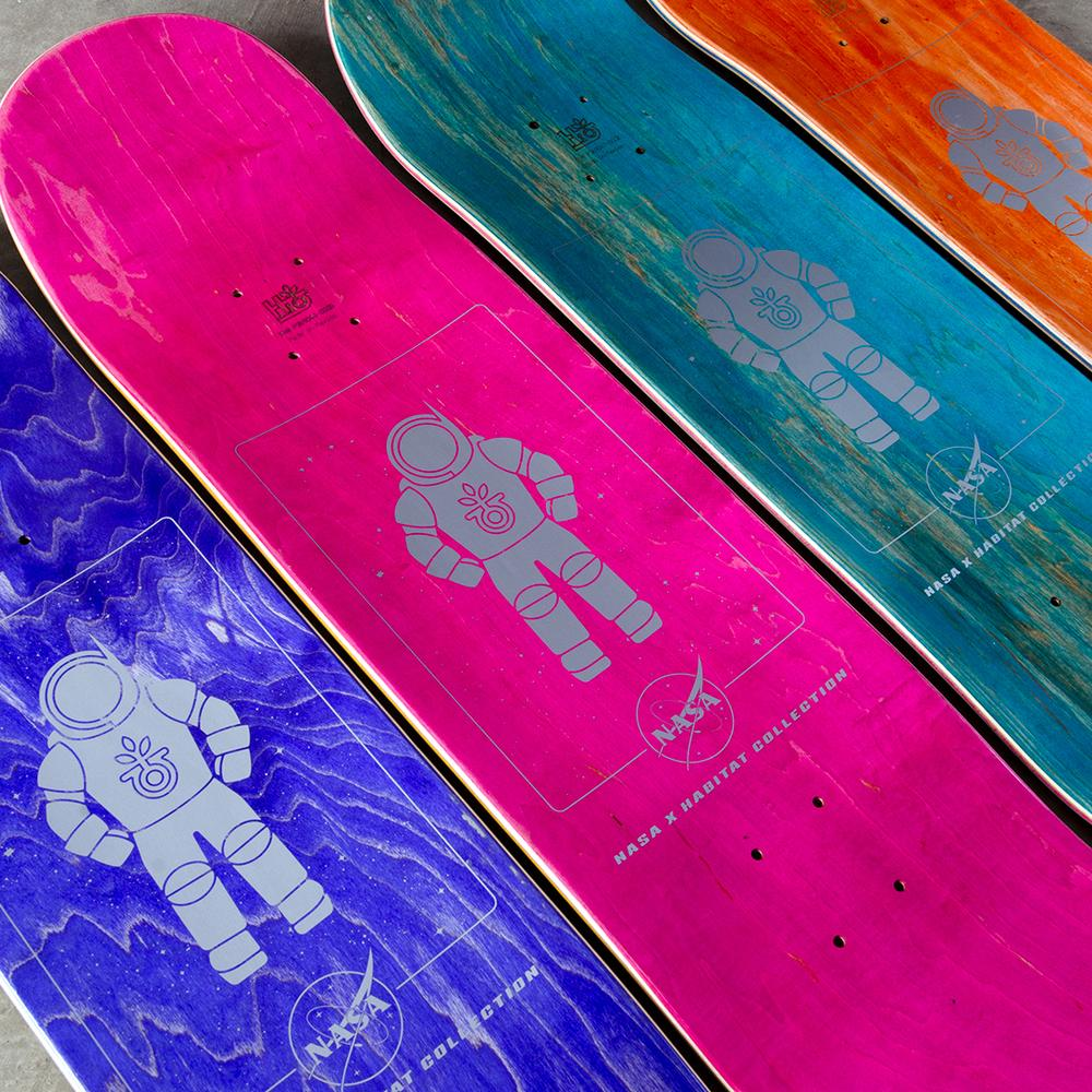 Nasa Collection Habitat Skateboards 9