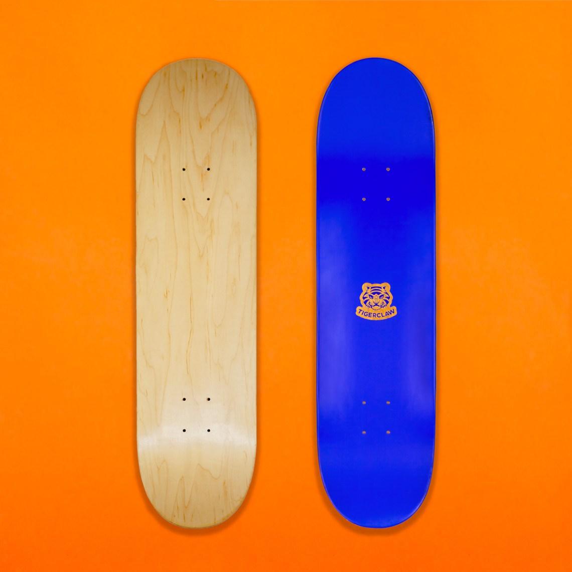 Nude Skateboard Deck By Tigerclaw