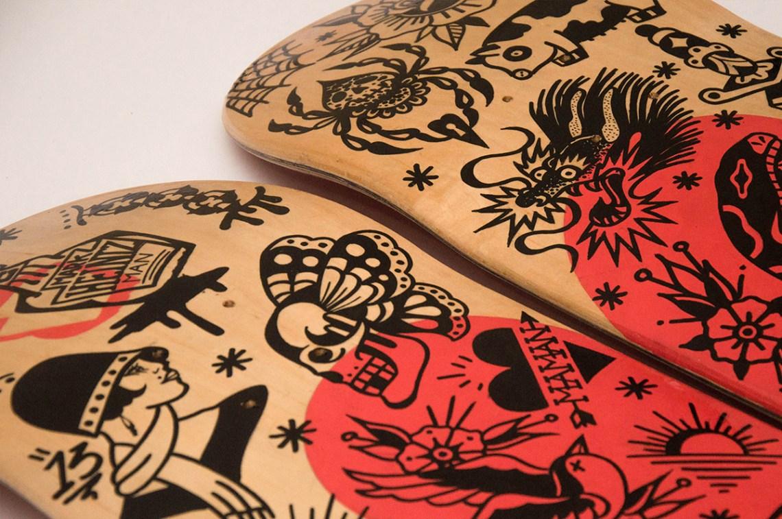 Amour Skate Et Tattoos Par Grom 8