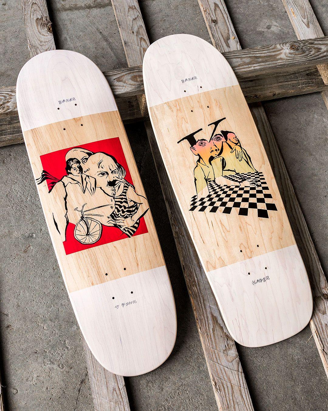 Mind Bends By Spanky Baker Skateboards 1