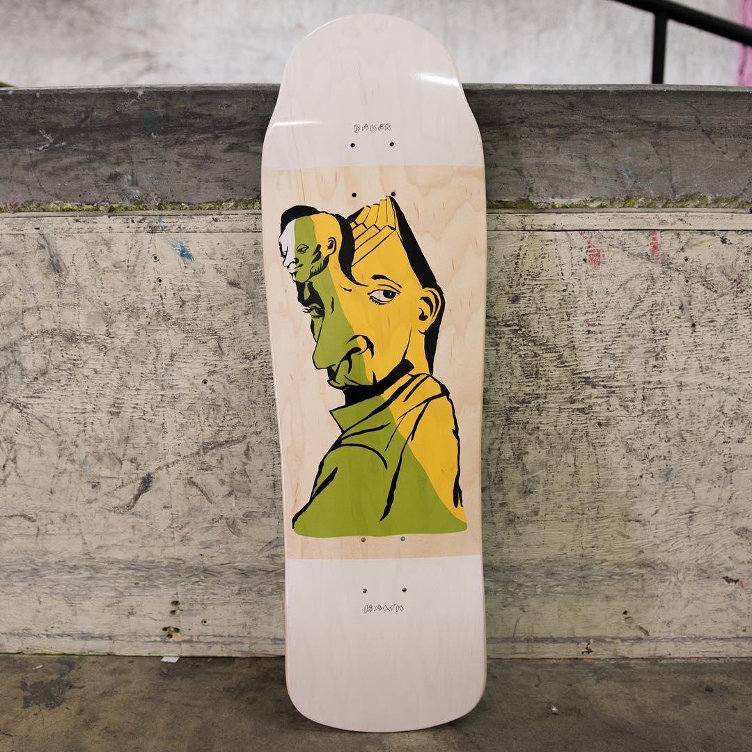Mind Bends By Spanky Baker Skateboards 3