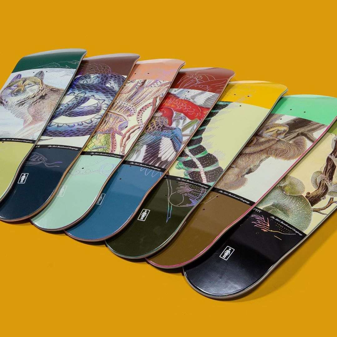 Ecol OG Series Par Girl Skateboards 1