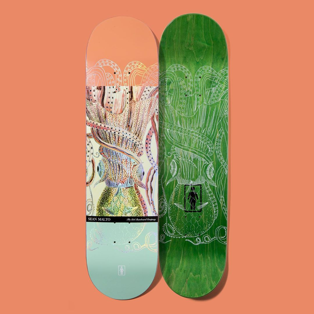 Ecol OG Series Par Girl Skateboards 5