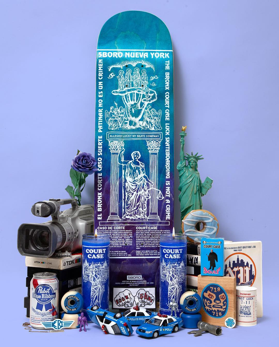 Lucky Candle Series Skateboard By 5boro Nyc 10