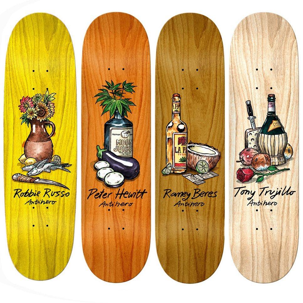 Still Life Series Todd Francis Antihero Skateboards 1.jpg