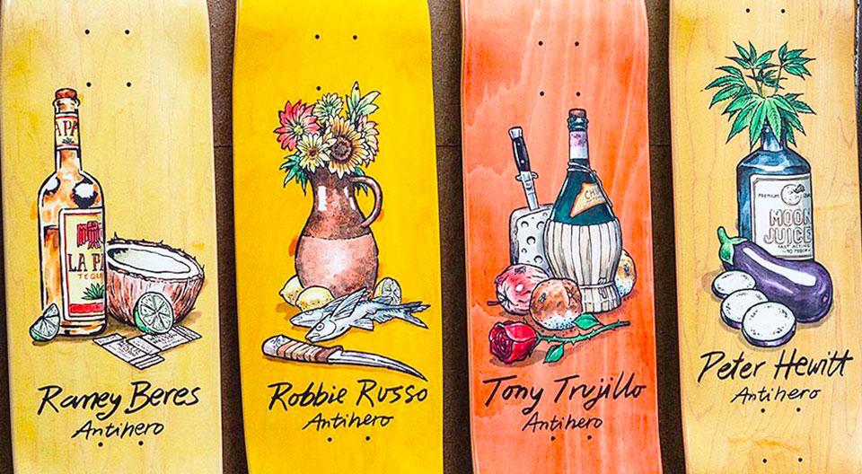 Still Life Series Todd Francis Antihero Skateboards.jpg