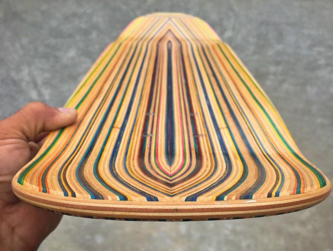 Recycled Decks By Iris Skateboards 5