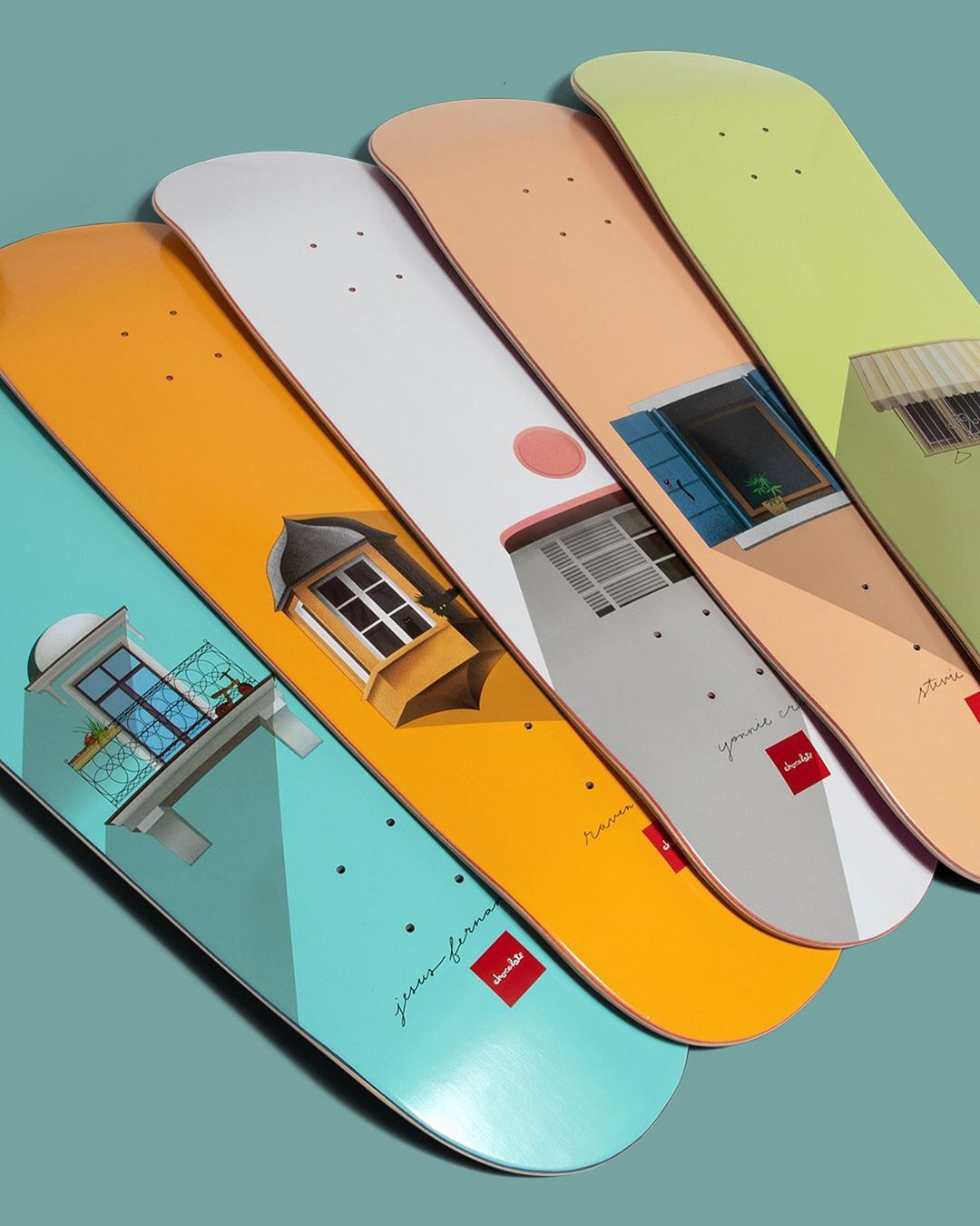 Windows Series Chocolate Skateboards 1