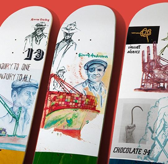 94 Stevedore Series Chocolate Skateboard 5