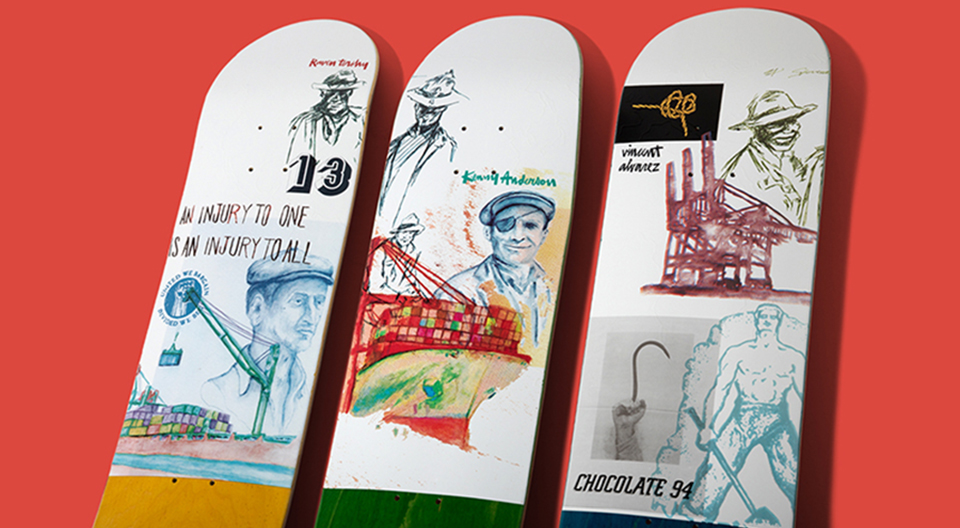 94 Stevedore Series Chocolate Skateboard 5