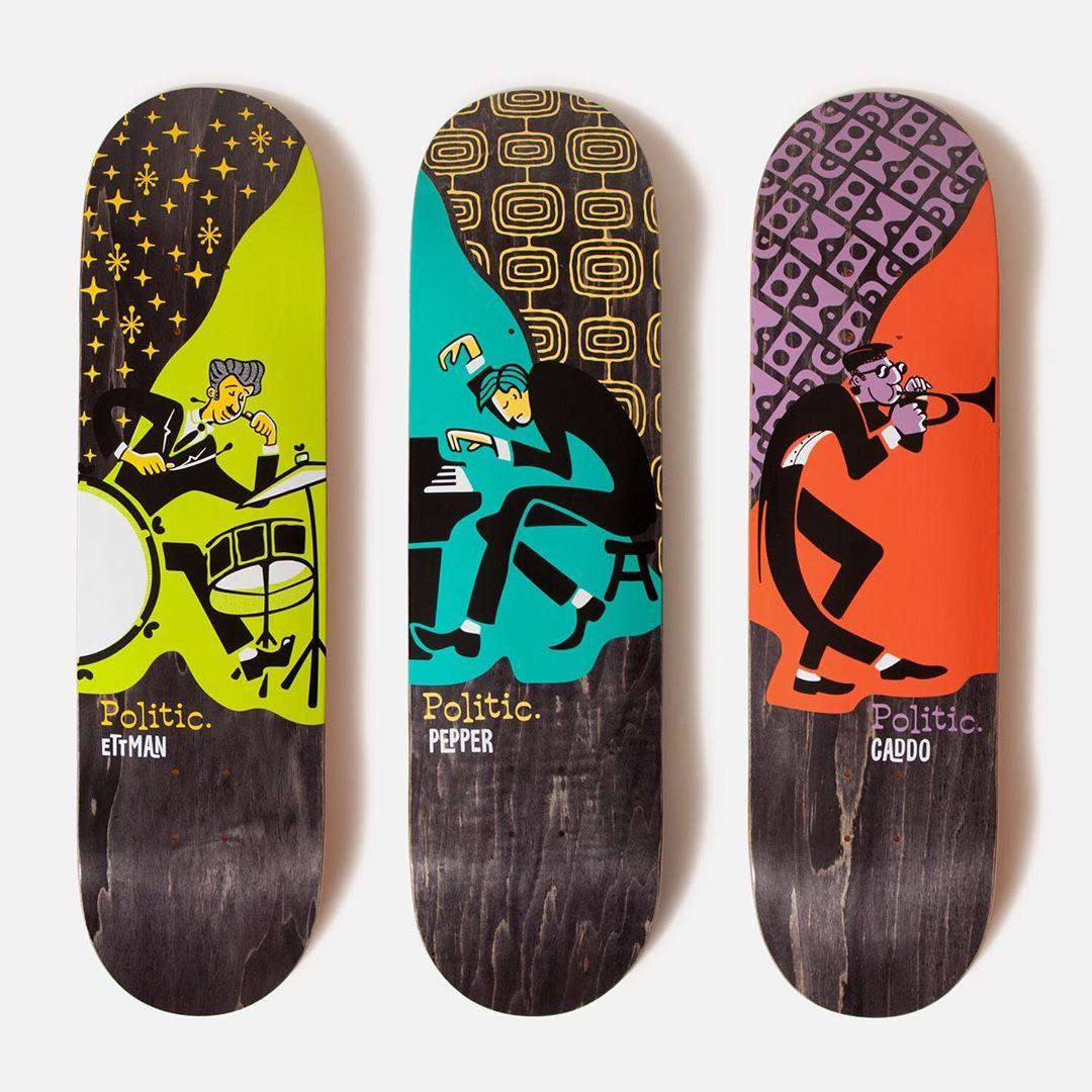 Jazz Series Politic Skateboards 1