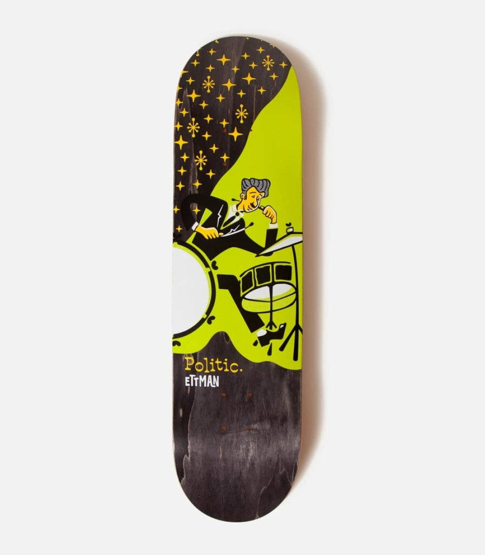 Jazz Series Politic Skateboards 4