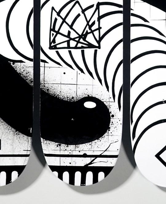 Skateboard Triptych By Keflione 2