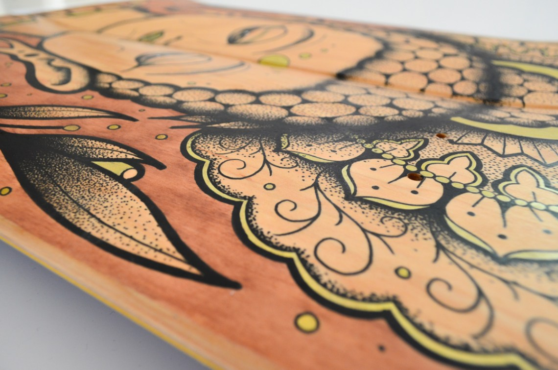 Bouddha Custom Skateboards By Subson Ink 3