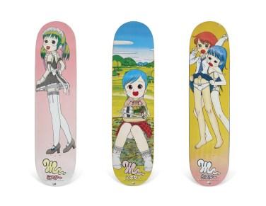 Skateboard Auction Supreme Christies Ny11