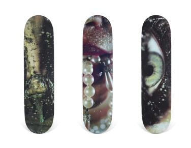 Skateboard Auction Supreme Christies Ny14