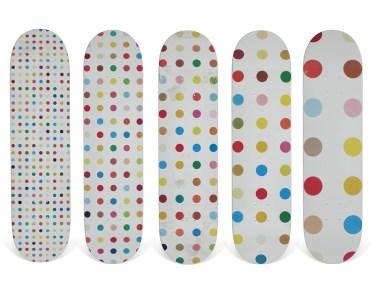 Skateboard Auction Supreme Christies Ny20