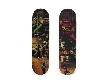 Skateboard Auction Supreme Christies Ny26