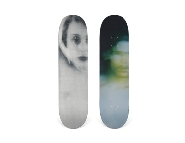 Skateboard Auction Supreme Christies Ny30